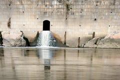 система сбора сточных вод Стоковое Изображение