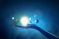 Система Солнця Стоковая Фотография
