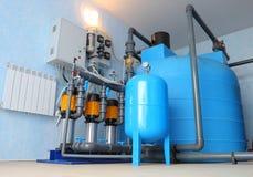 Система фильтрации бассейна Стоковое Изображение RF