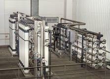 Система фильтра на большой компании Стоковая Фотография RF