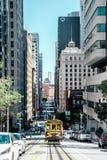 Система фуникулера Сан-Франциско стоковое фото