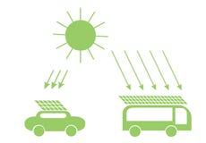 система экономии солнечная Стоковая Фотография
