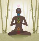 система chakra иллюстрация штока