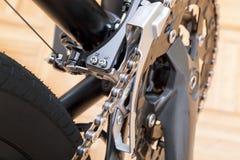 Система drivetrain велосипеда Стоковые Фото