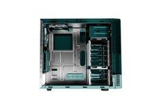 Системный блок для перевода фронта 3d медного штейна пробела компьютера дальше иллюстрация штока