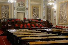 Сицилийские конференц-залы парламента Стоковая Фотография