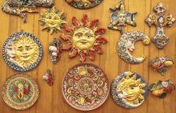 Сицилийская керамика стоковая фотография