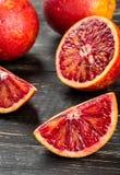 Сицилийский оранжевый плодоовощ Стоковые Изображения