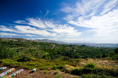 Сицилия - внутренний ландшафт стоковые изображения rf