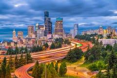 Сиэтл, Вашингтон, США стоковые изображения