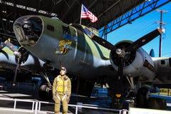 Сиэтл, США, 3-ье сентября 2018: Музей полета самый большой частный музей воздуха и космоса в мире стоковое фото rf