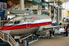 СИЭТЛ, WA - 8-ОЕ АПРЕЛЯ 2017: Музей полета в Сиэтл, Вашингтон, США Стоковая Фотография