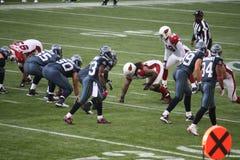 Сиэтл Seahawks сперва и 10 Стоковое фото RF