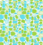 Сияющая абстрактная геометрическая картина. Декоративные плитки Стоковые Изображения RF