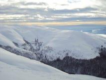 Сияющая гора Стоковые Изображения