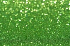 Сияющая зеленая книга Стоковое Изображение RF