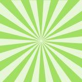 Сияющая предпосылка луча солнца Картина Sunburst Солнця зеленый цвет излучает предпосылку лета предпосылка sunrays популярный взр иллюстрация вектора