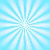 Сияющая предпосылка луча солнца Картина Sunburst Солнця синь излучает предпосылку лета предпосылка sunrays популярный взрыв звезд Стоковое Изображение RF