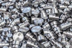 Сияющая сталь разделяет backround Стоковая Фотография RF