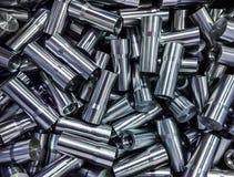 Сияющая сталь разделяет backround Стоковые Изображения