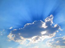 Сияющее небо Стоковые Изображения