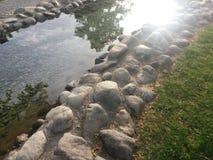 Сияющее озеро Стоковые Фото