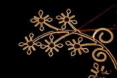 Сияющее украшение праздника - предпосылка рождества Стоковые Фото
