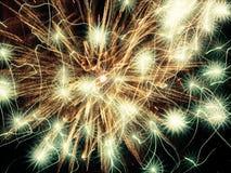 Сияющие звезды абстрактный праздник предпосылки Стоковое Изображение