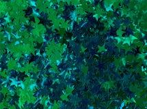 Сияющие звезды предпосылки Стоковые Фото