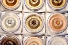 Сияющие яркие блески для уникально состава Стоковая Фотография RF