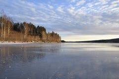 Сияющий лед Стоковое фото RF