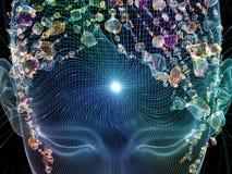 Сияющий разум Стоковые Изображения RF