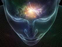 Сияющий разум Стоковые Изображения