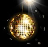 Сияющий шарик диско Стоковые Изображения