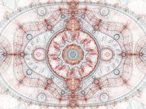 Сияющий clockwork фрактали Стоковые Фотографии RF
