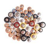 Сила батареи - отечественный aaa etc Стоковое Изображение RF