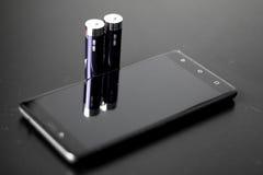 Сила батареи Стоковая Фотография