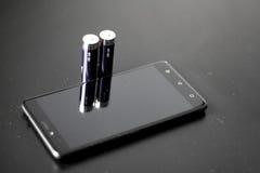 Сила батареи Стоковая Фотография RF