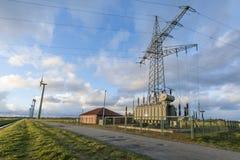Сила восточного Frisia_middle Стоковые Фотографии RF