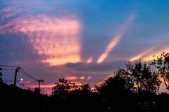 Сила восхода солнца Стоковые Фотографии RF