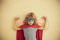 Сила девушки Стоковое Изображение