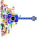 Сила музыки Стоковые Изображения RF