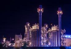 сила промышленного завода Стоковое Фото