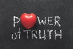 Сила сердца правды Стоковые Изображения RF
