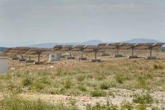 сила солнечная южная Испания завода панелей Стоковая Фотография RF