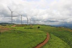 сила турбины Стоковое Изображение