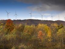 Сила Eco, ветротурбины Стоковые Изображения RF