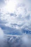 Сидеть в облаках Стоковое фото RF