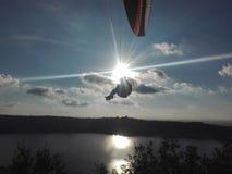 сидеть на облаке Стоковое фото RF