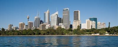 Сидней коммерчески Skyline4 Стоковое Фото